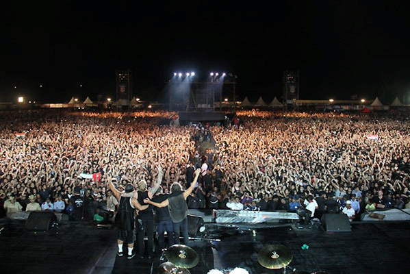 Metallica - Crowd - Bangalore - India