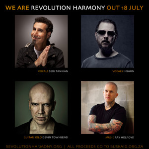Revolution Harmony - Serj-Tankian, Devin Townsend, Ray Halroyd, Ihsahn