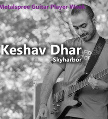 Metalsphere Guitar Player Week Keshav Dhar Skyharbor