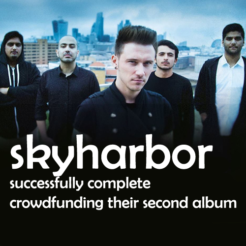 Skyharbor Successfully Complete Crowdfunding Their Second Album