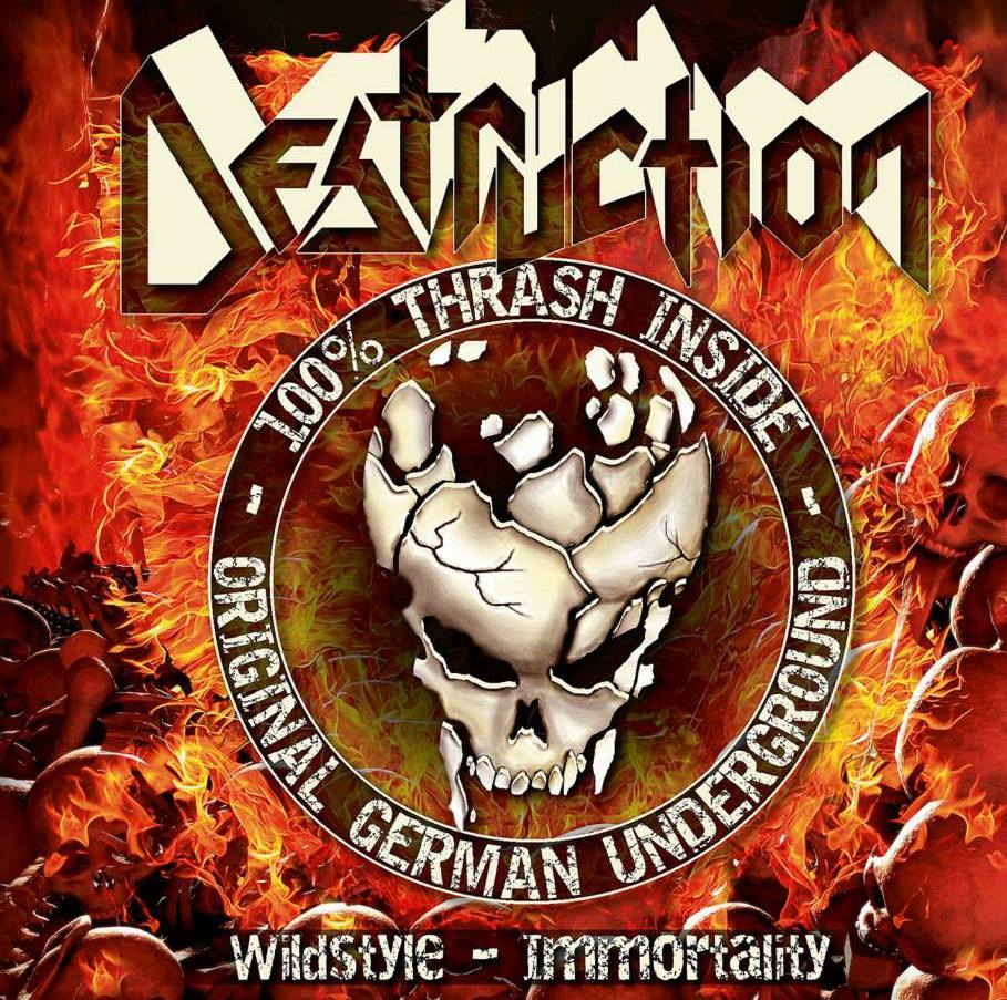 Destruction - 100  percent Thrash Inside - Original German Underground