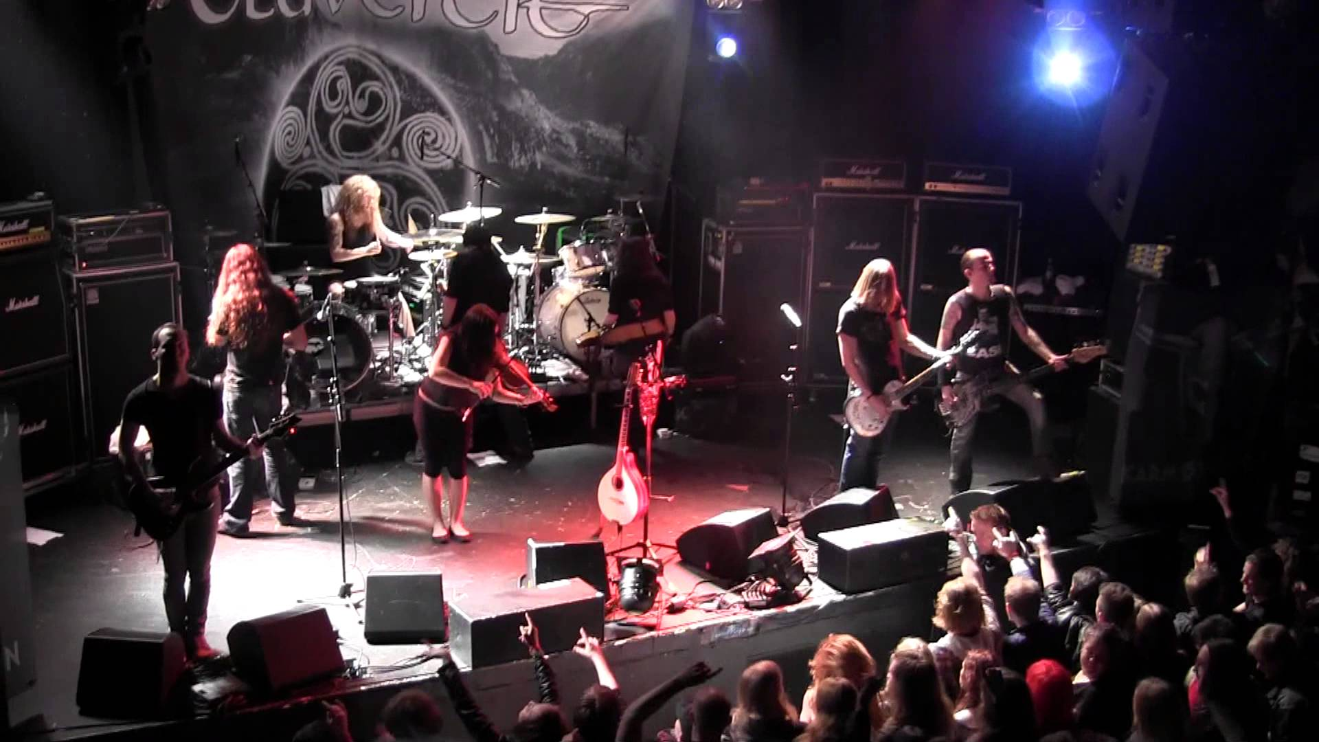 Eluveitie performing live