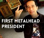 First Metalhead President - Indonesia - Joko Widodo