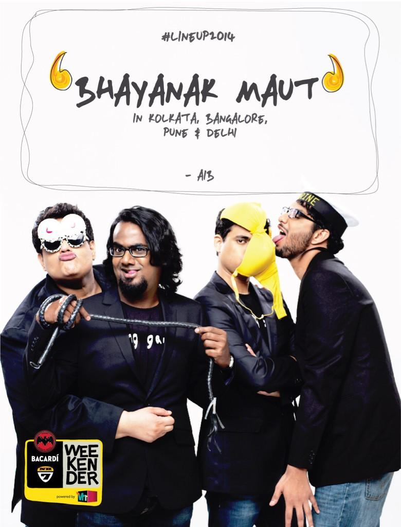 Bhayanak Maut - Bacardi NH7 Weekender 2014 - Kolkata