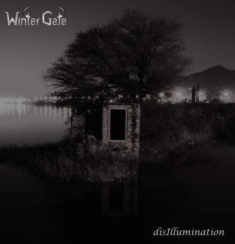Winter Gate's EP Disillumination's artwork