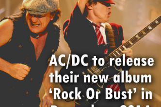 AC DC to release their new album Rock Or Bust in December 2014