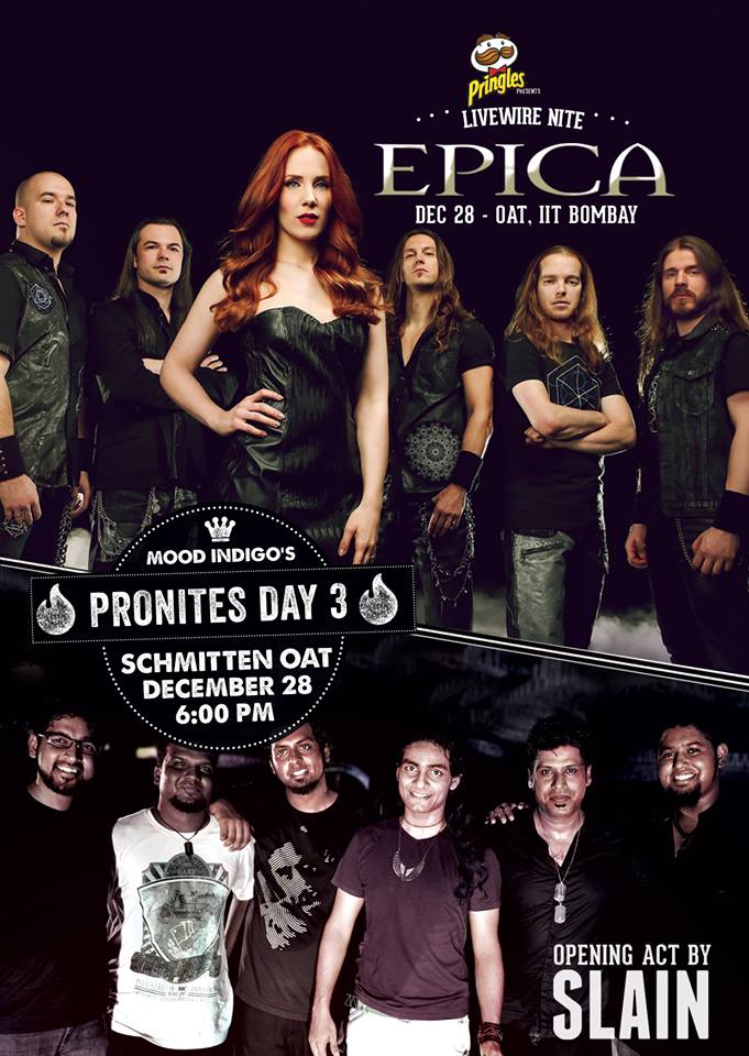 Epica to play on 28th December